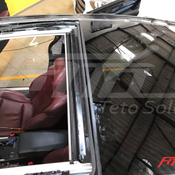 Hyundai Sonata conserto do teto solar