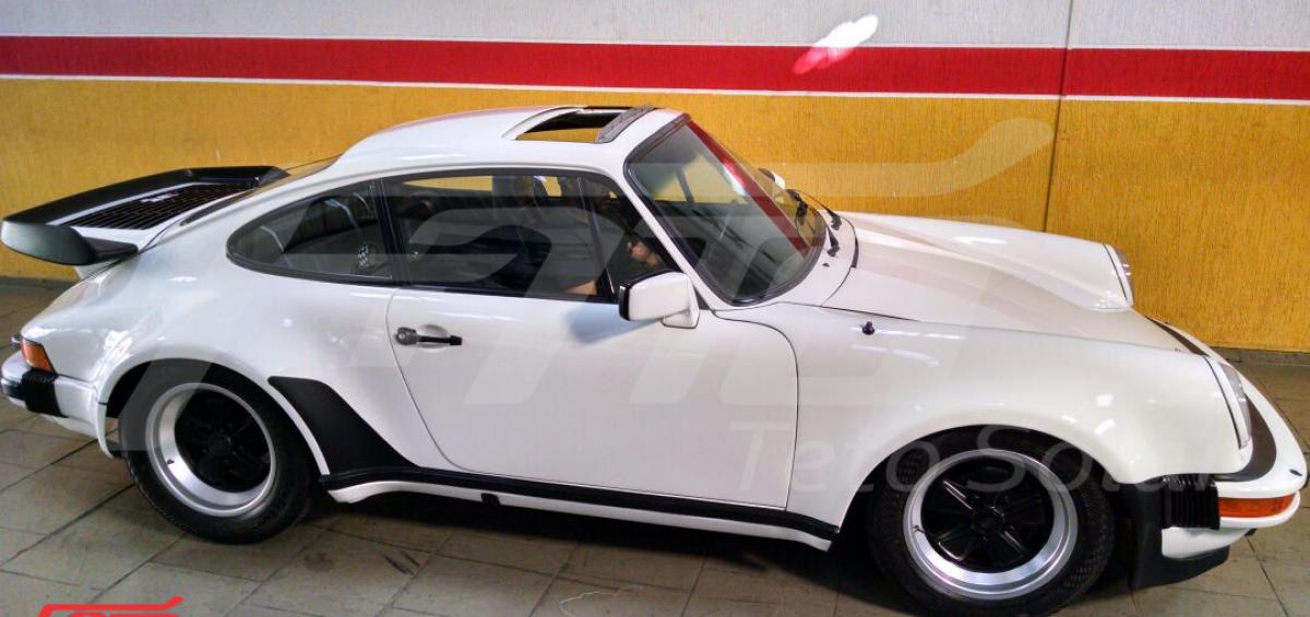 Porsche 930 Restauração Teto Solar