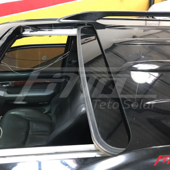 Consertamos o Teto Solar do Toyota Prado