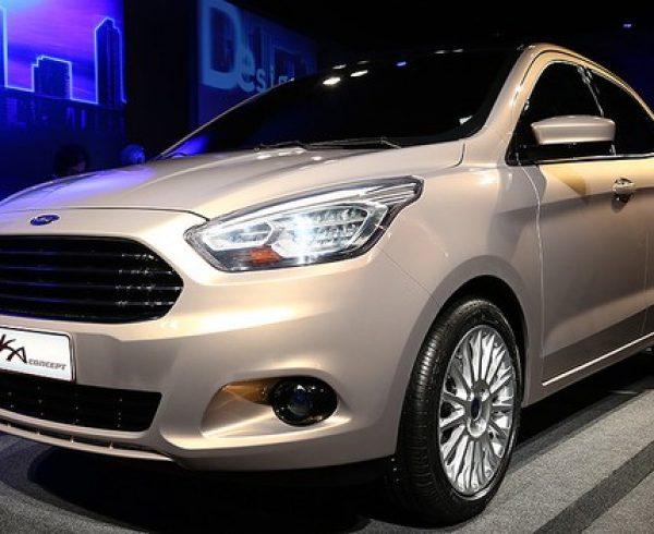 Ford revela novo Ka Sedan como conceito