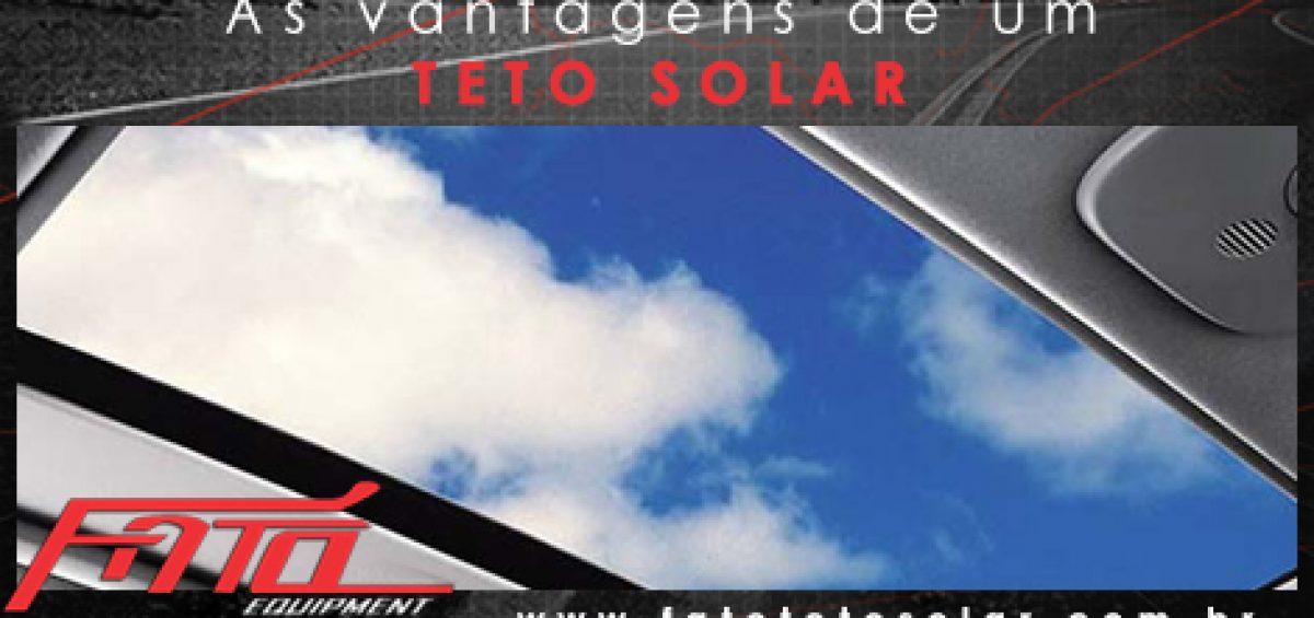 As vantagens de um teto solar - fato teto solar