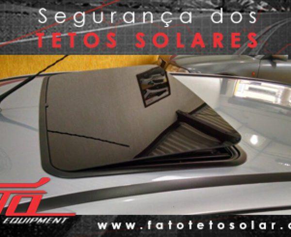 Segurança dos tetos solares - fato teto solar