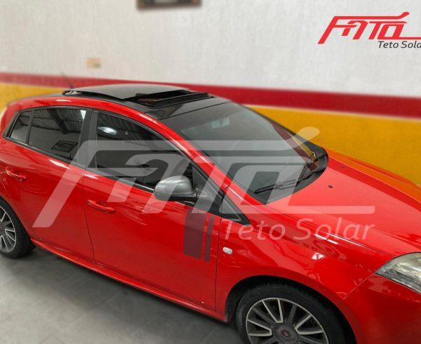 Conserto do mecanismo do teto solar do Fiat Bravo