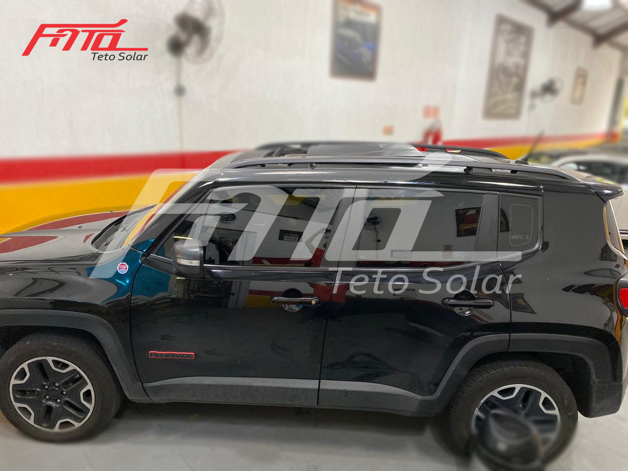 Conserto do Teto Solar no Jeep